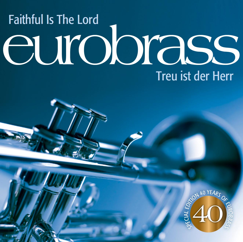 Cover der eurobrass-CD Treu ist der Herr