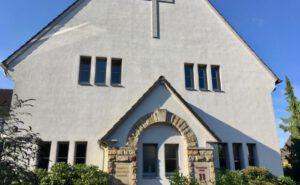 Die Außenseite der Evangelisch-Freikirchliche Gemeinde in Herford
